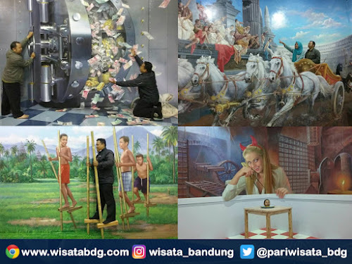 wisata foto 3 D di Bandung