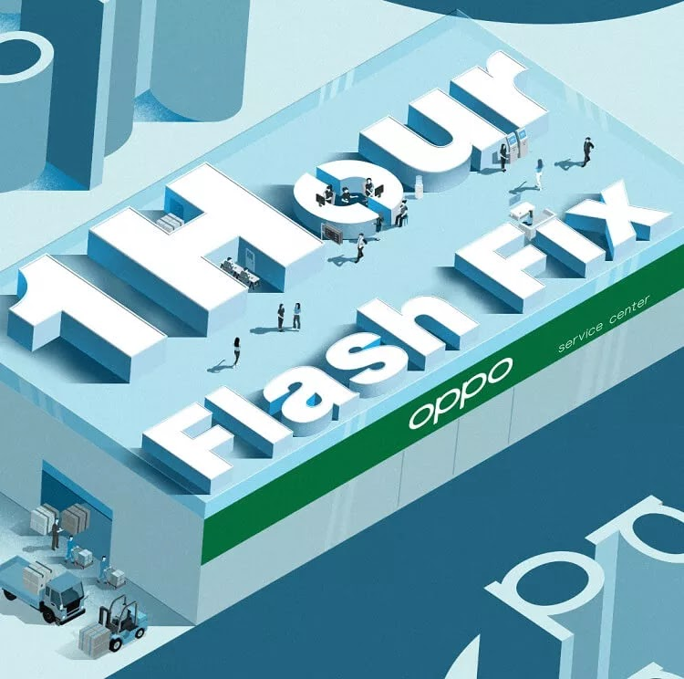 OPPO Improves Customer Service with 1-Hour Flash Fix Program