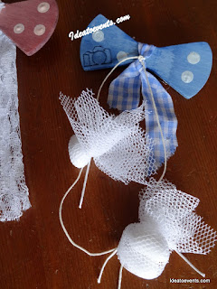 papillon Christening favors; party favours