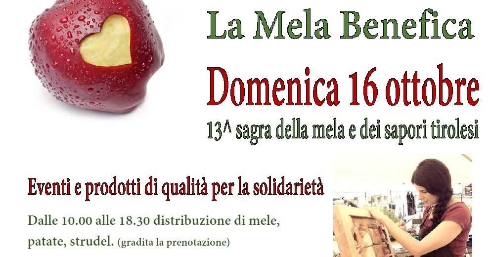 La Mela Benefica - Sagra della Mela e dei Sapori Tirolesi a Bolzano Novarese