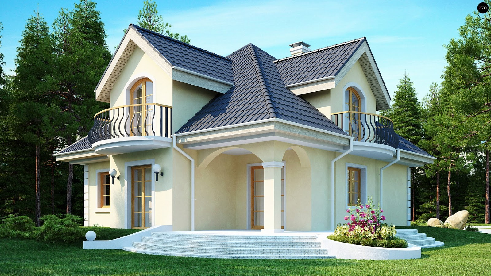Ordinaire The Following Small Houses Photos Will Give You An Idea For Your Dream House  Or For Your Current House And How To Make It More Beautiful.