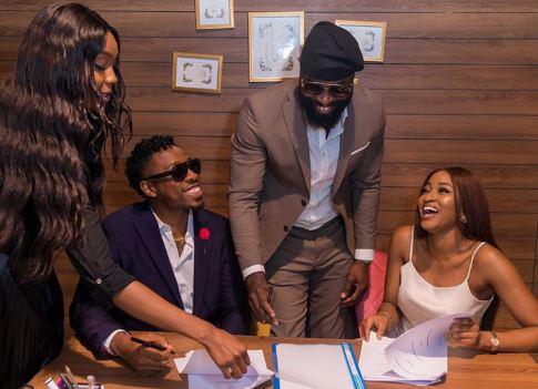 Ike & Kim Oprah sign under a new management team, Play Management Africa