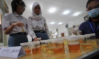 Pelajar Dan Siswa Di Palembang Akan Dites Urine