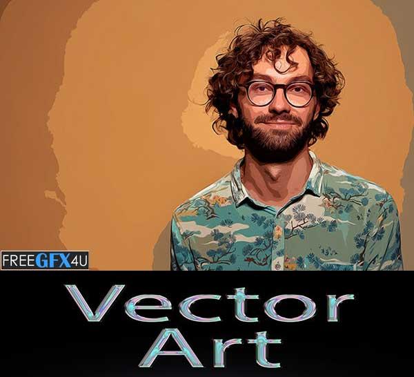 Vector Art - Photoshop Action