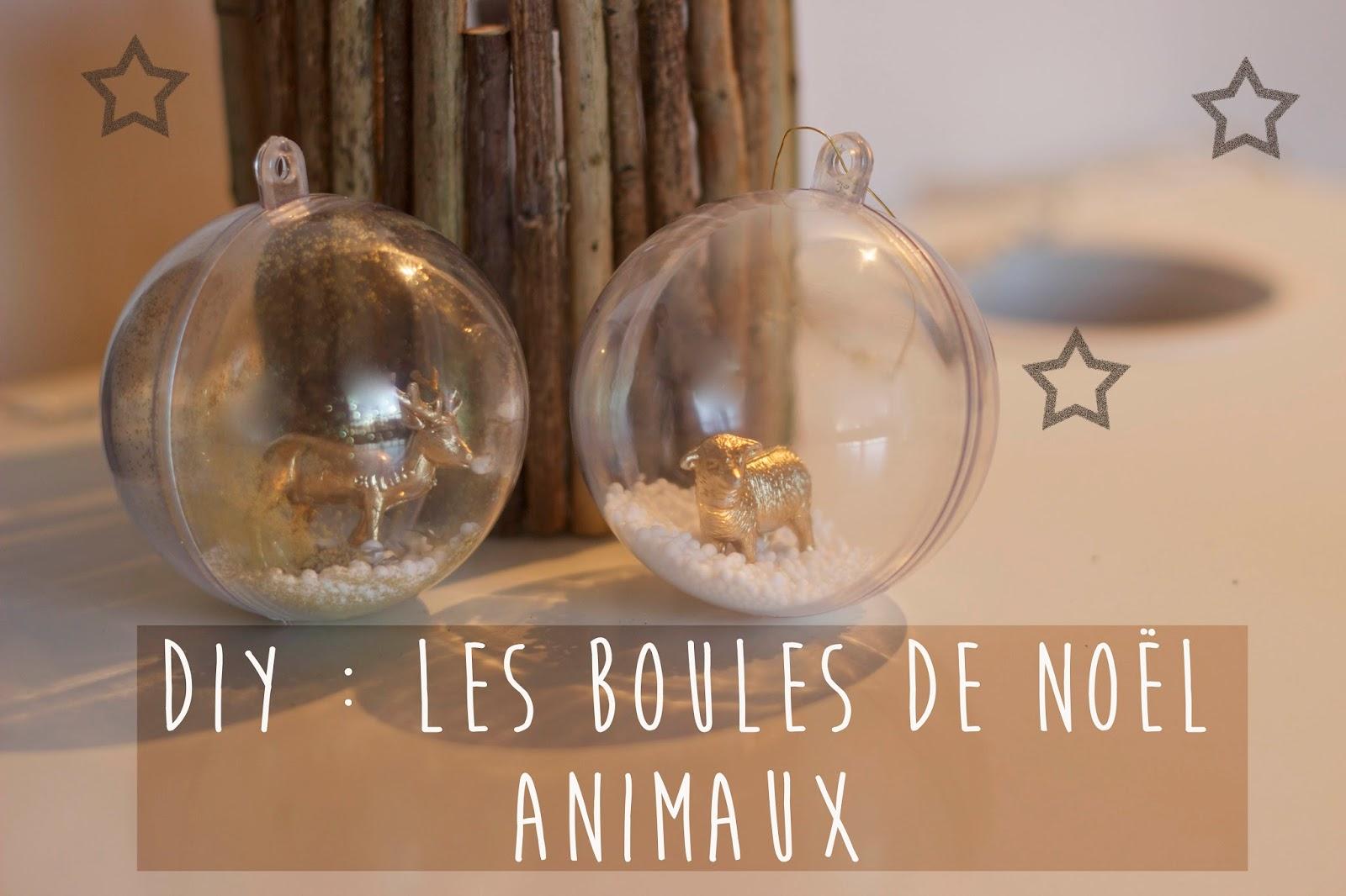 Boule De Noel A Customiser.Noix De Cocoon Diy De Noël Les Boules Pour Le Sapin