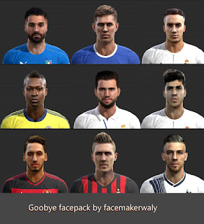 Goodbye Facepack Pes 2013 By Waly
