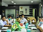 Sekda Sidrap Sudirman Bungi  Pimpin Monev Pelaksanaan Anggaran 2020