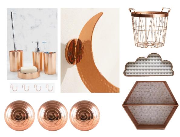 boutonde meubles spirale cuivre
