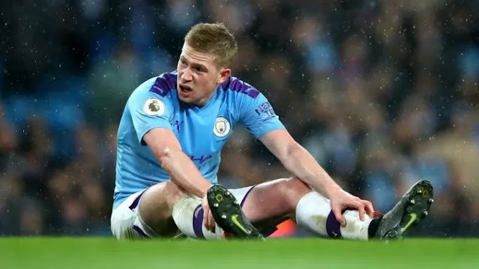 De Bruyne 'sad' but says Premier League should be voided