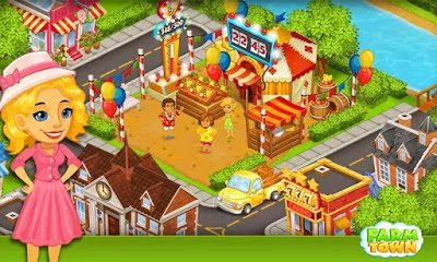 تحميل لعبة بلدة المزرعة Farm Town:Happy City Day Story النسخة المعدلة