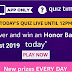 Amazon Quiz Answers- 27 August 2019