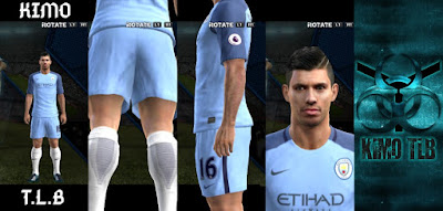 PES 2013 Manchester City Home Kit 2016-17 By KIMO T.L.B 19