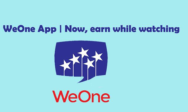 WeOne Apps Make Money Online