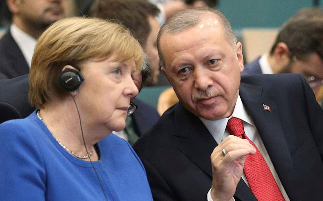 «Γρήγορα βήματα» και αποκλιμάκωση ζήτησε η Μέρκελ από Ερντογάν