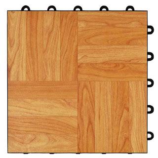 Greatmats Max Tile basement plastic vinyl floor