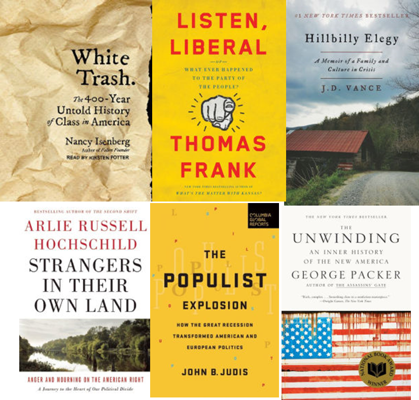6 Books to Help Understand Trump's Win
