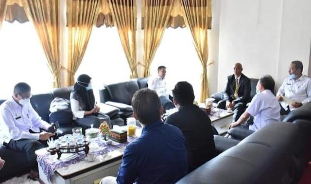 Plt Bupati Bener Meriah Terima Kunjungan Tim BPKP Banda Aceh