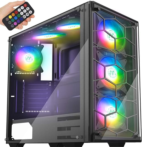 MUSETEX ATX Mid-Tower PC Case 907 Phantom