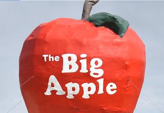 Spreyton Public Art | BIG Apple Sculpture at the Spreyton Bakery