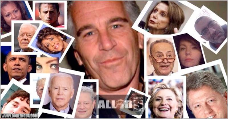 Anonymous publica lista de personas famosas ligadas a Jeffrey Epstein