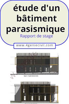 étude d'un bâtiment parasismique en génie civil
