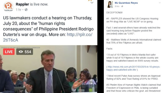 MJ Quiambao Reyes Exposed Rappler