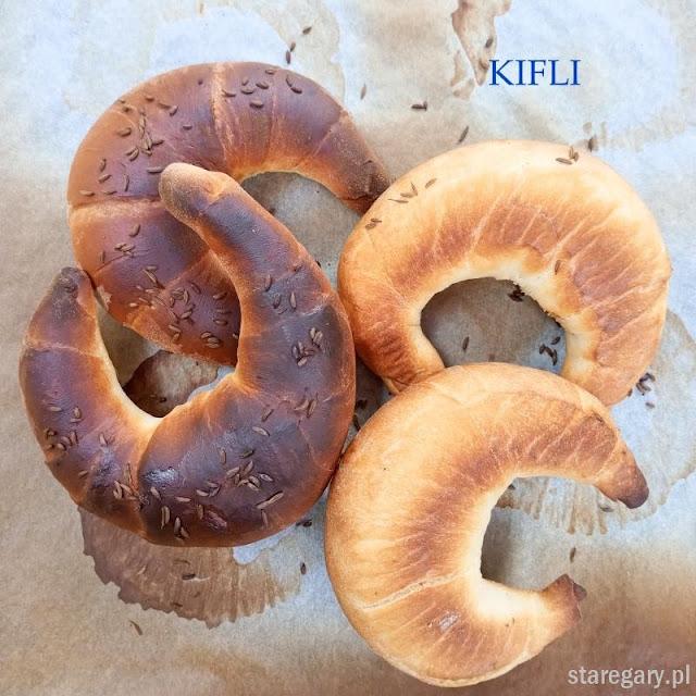 Rogaliki Kifli  - wrześniowa piekarnia