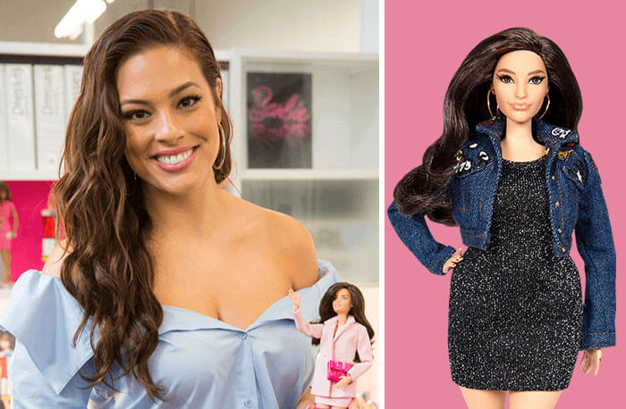Barbie Introduces 17 New Dolls Based On Inspirational Women Such As Frida Kahlo And Amelia Earhart - Ashley Graham, Model And Body Activist