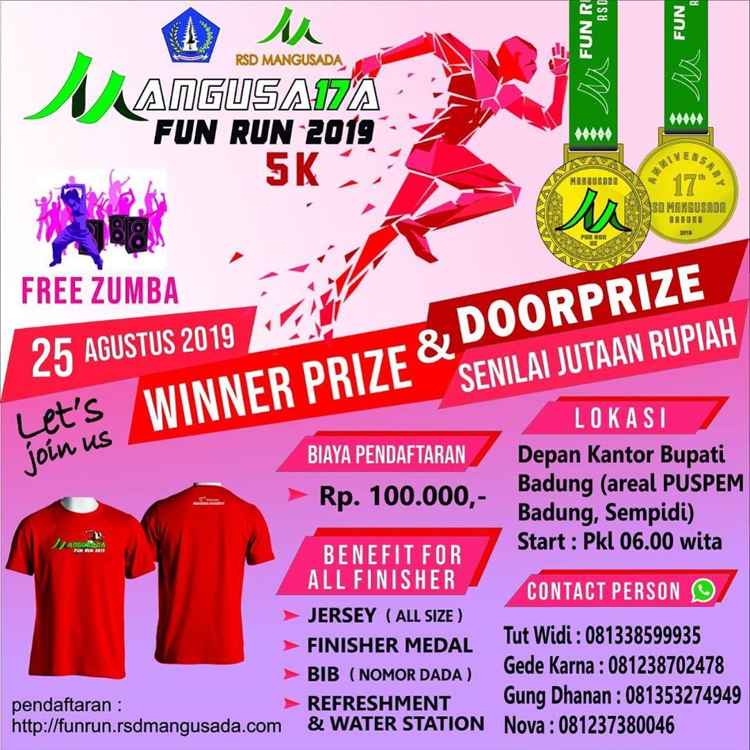 Mangusada Fun Run • 2019