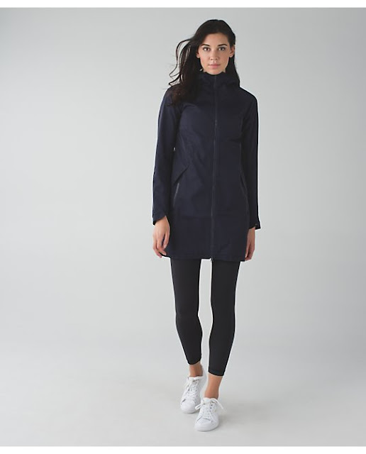 lululemon definitely-raining-jacket naval-blue