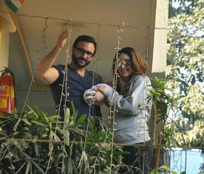 3 Gambar Anak Saif Ali Khan dan Kareena Kapoor