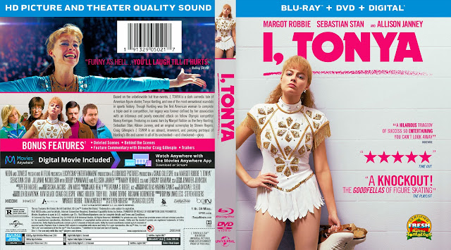 I, Tonya Bluray Cover