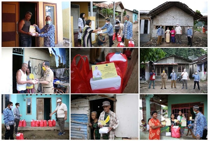 Riana Arinal Bagikan Ribuan Nasi Kotak untuk Panti Asuhan dan Masyarakat Kurang Mampu