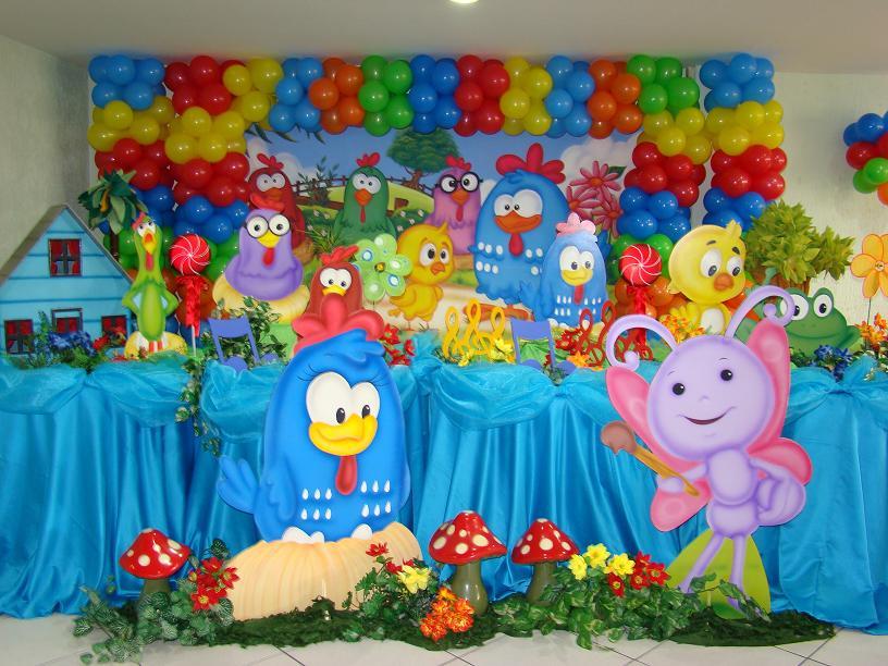 Muyameno Com Fiestas Infantiles Decoradas Con La Gallina Pintadita 2