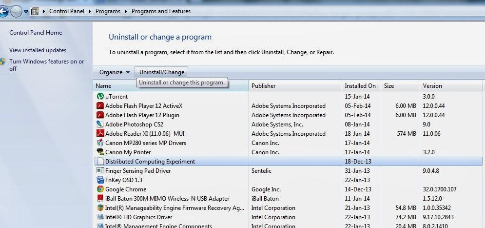 Uninstall unwanted softwares