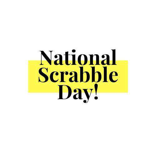 National Scrabble Day Wishes Unique Image