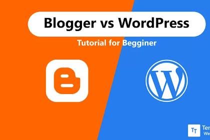 7 alasan mengapa Wordpress lebih berisiko daripada blogspot
