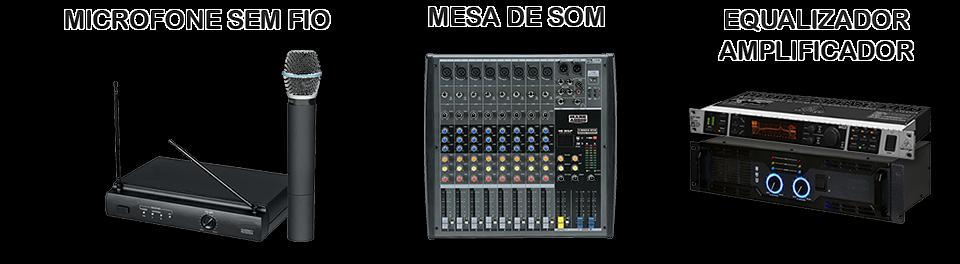 Aluguel Microfone Mesa de Som Natal RN