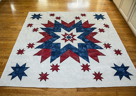 Land of the Free Quilt Free Pattern