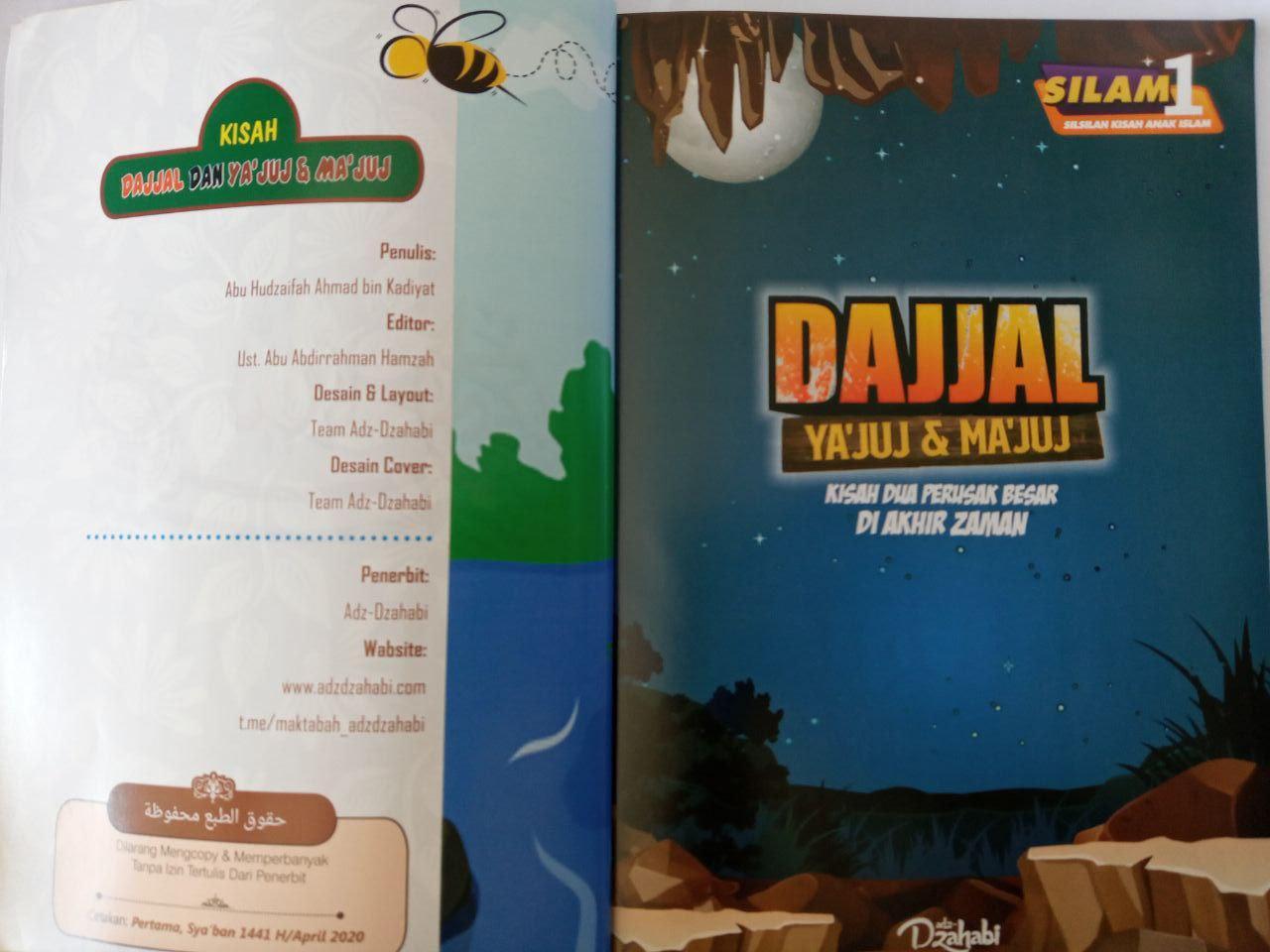 Buku Anak : Dajjal, Yajuj dan Majuj Kisah Dua Perusak di Akhir Zaman Adz Dzahabi