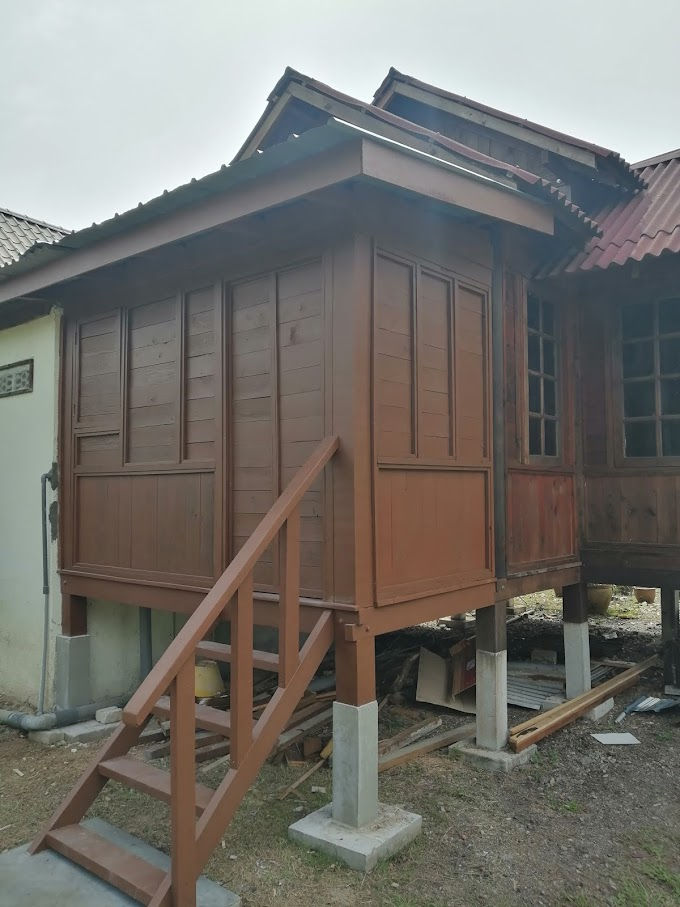Renovasi Chalet di Sekinchan, Selangor