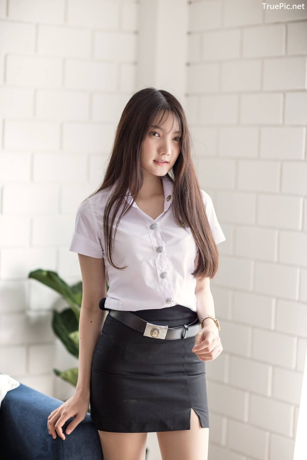 Image-Thailand-Cute-Model-Creammy-Chanama-Concept-Innocent-Student-Girl-TruePic.net- Picture-6