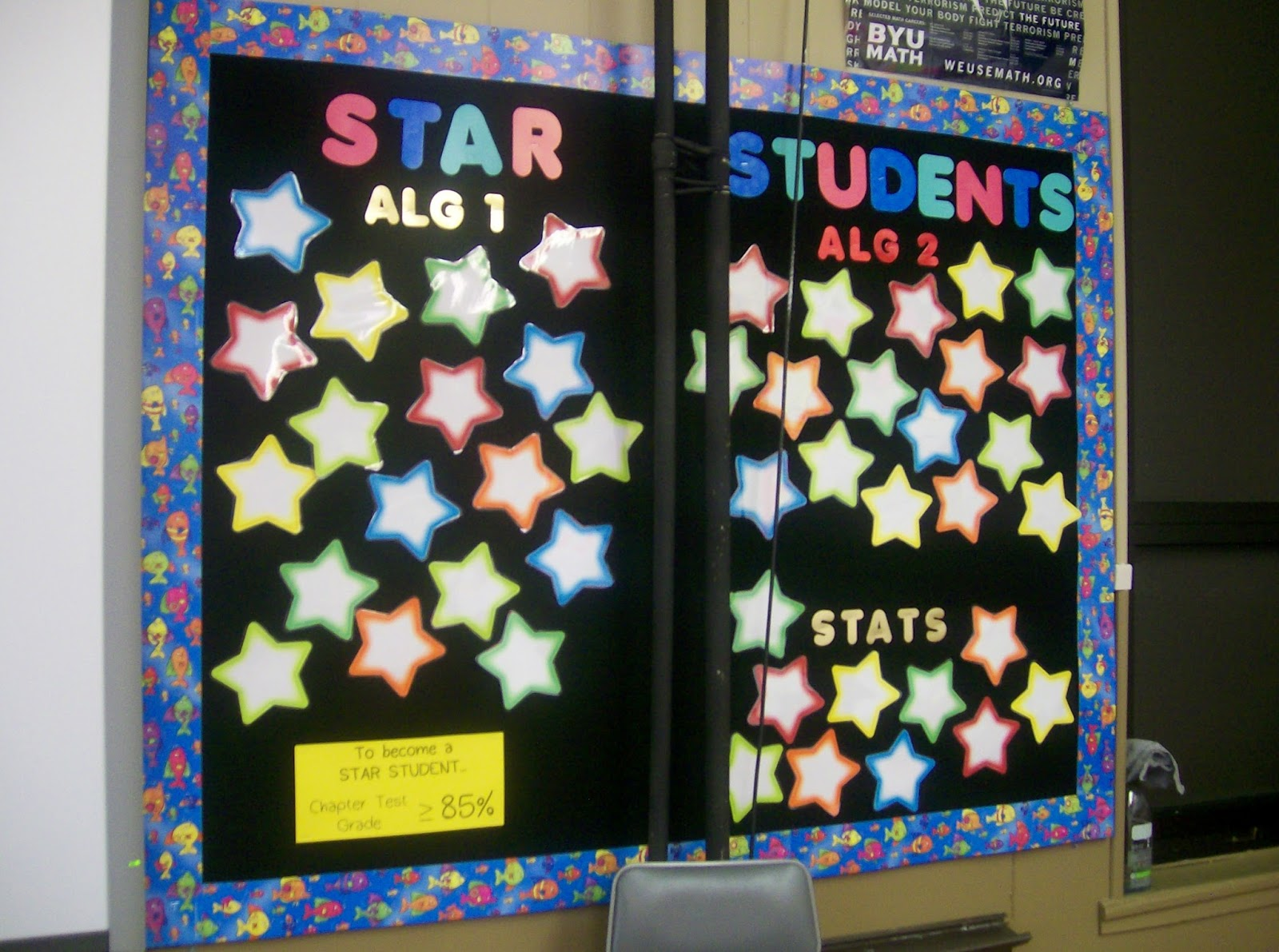 Classroom Notice Board Ideas ~ Math love bulletin board ideas
