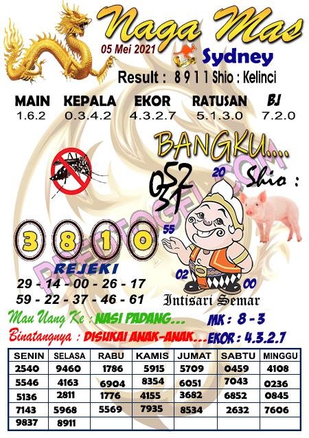 Syair Nagamas Sdy Rabu 05 Mei 2021