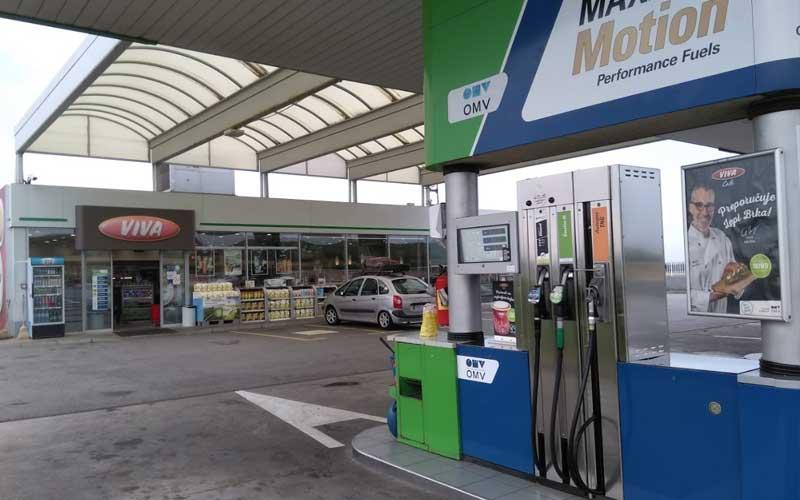OMV Petrol Novi Sad (Belgrad Yönü)