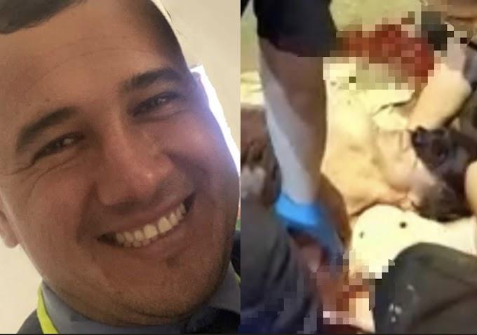 Investigan si agente de tránsito involucrado en accidente en el sector de Amarilo, conducía en estado de embriaguez
