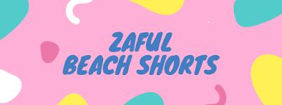 Zaful beach shorts - summer 2018