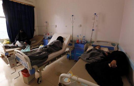 OMS registra 20.000 casos de cólera en Yemen en tres días
