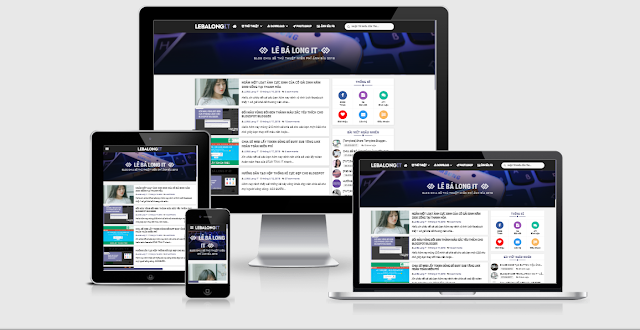 Responsive Premium Blogger Template Free Download