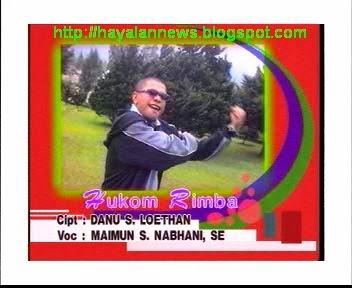Lirik lagu Hukom Rimba (Terjemahan ke Indonesia) - Vocal : Maimun S Nabhani